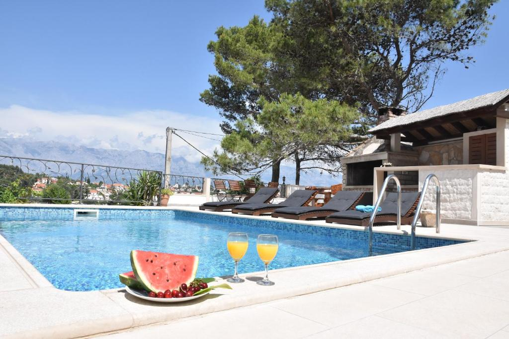 The swimming pool at or close to Villa Sky