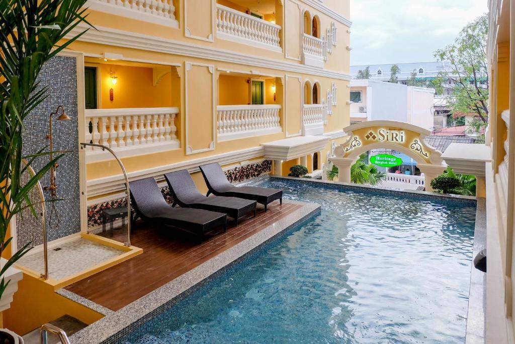 The swimming pool at or near Siri Heritage Bangkok Hotel