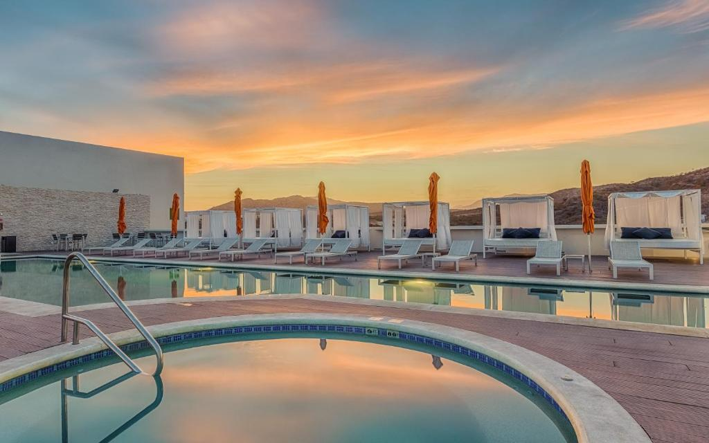 The swimming pool at or near Hampton Inn & Suites by Hilton Los Cabos