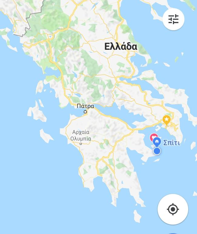 Poros Greece Map.Apartment Studio In Poros Greece Booking Com