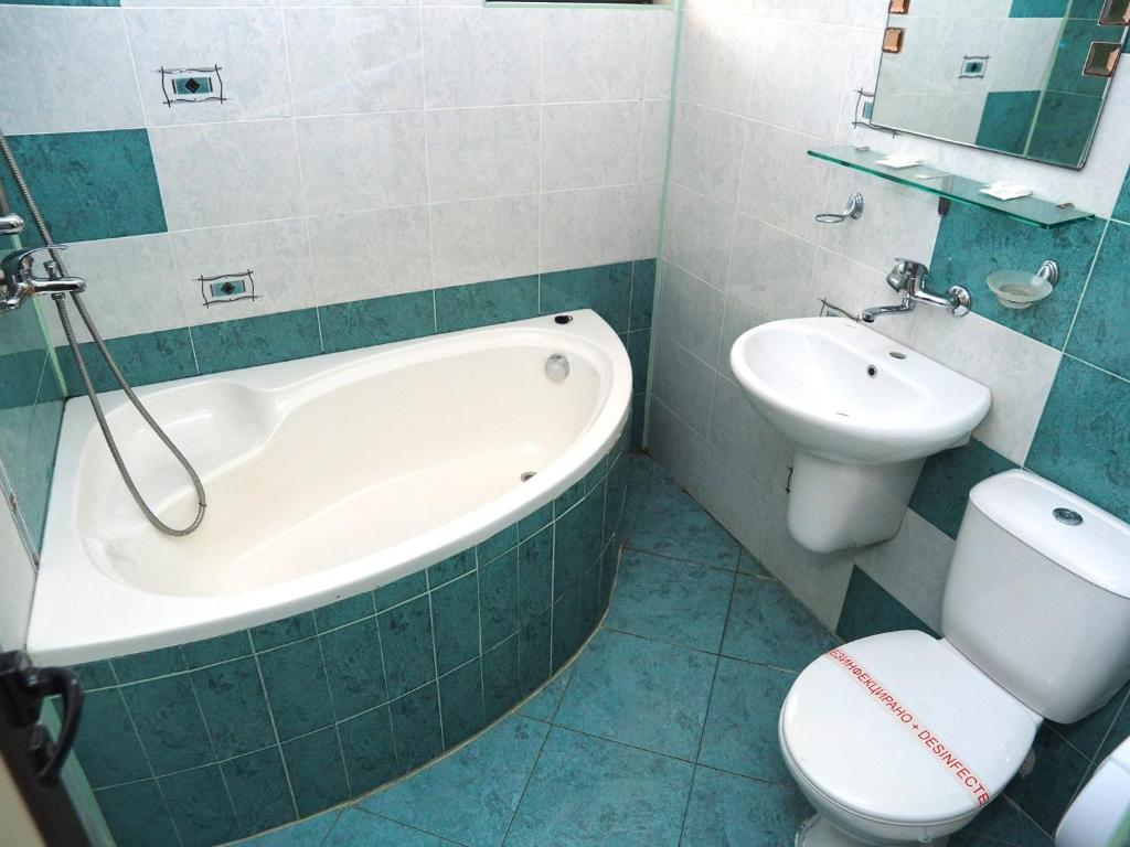 Et bad på Eos Hotel