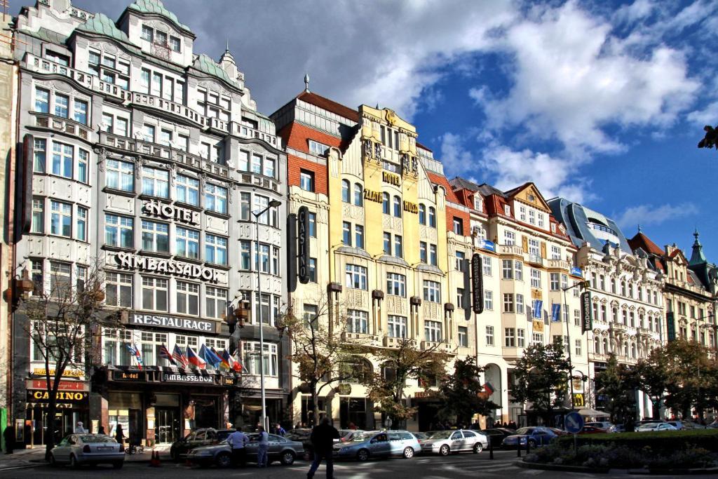hotel ambassador zlata husa prague czech republic