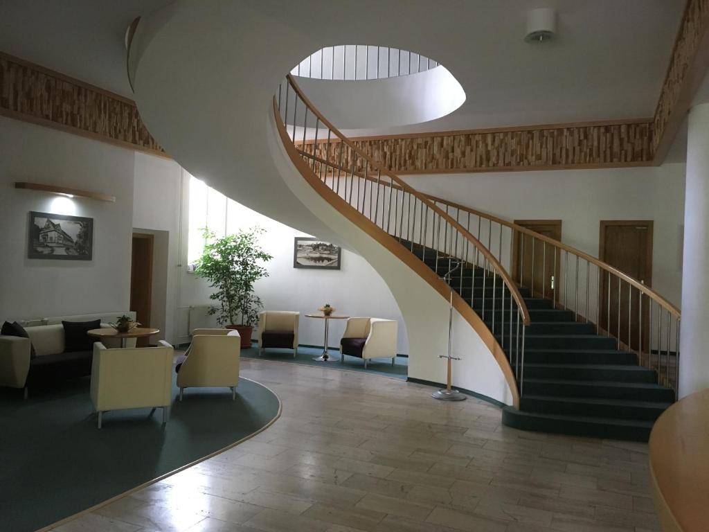 The lobby or reception area at Apartmán 108