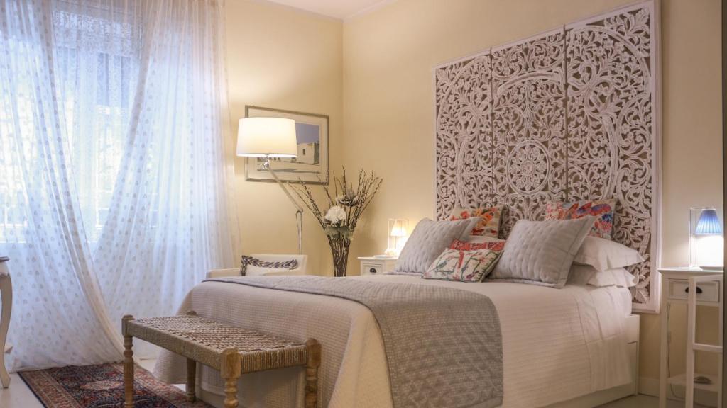 Krevet ili kreveti u jedinici u okviru objekta Vatican City Flavio's House