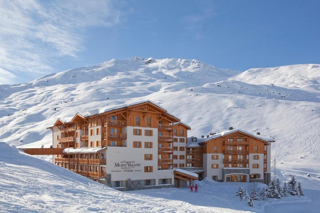 Chalet Du Mont Vallon Frankreich Les Menuires Booking Com
