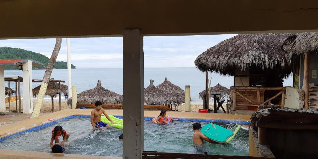 The swimming pool at or near Los Ayala Villas Mardyu