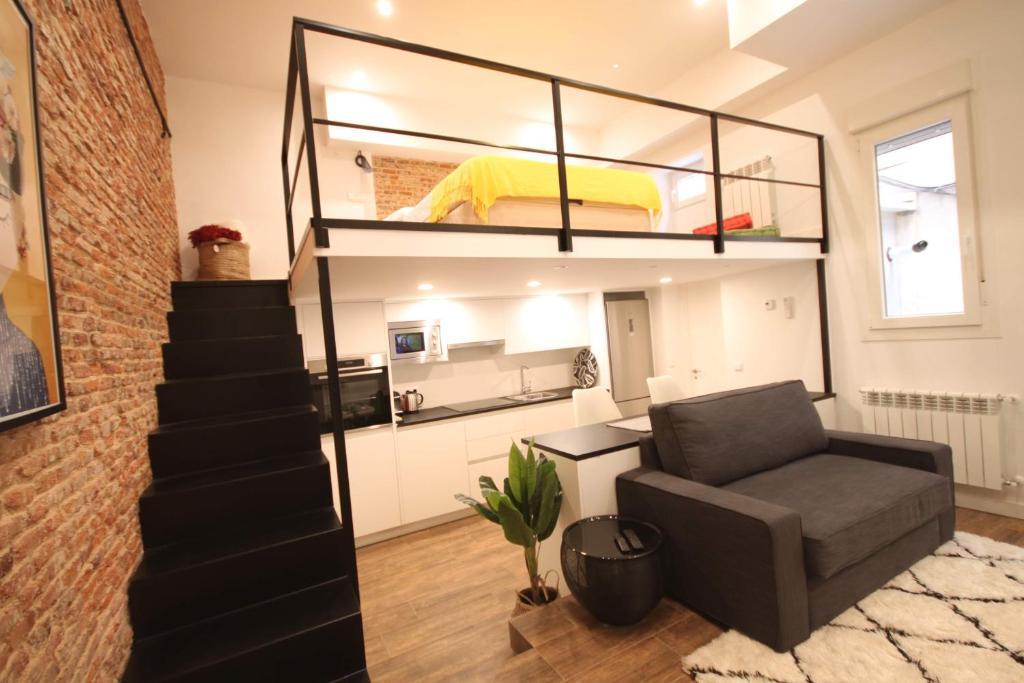 Apartment Cosy Mini Loft In Goya Madrid Spain Bookingcom