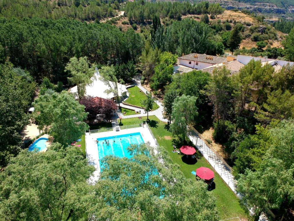 A view of the pool at Hotel Resort Cueva del Fraile. or nearby