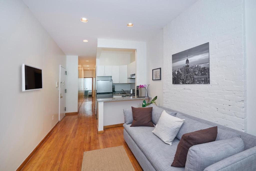Apartamento a 1,2 km de Times square. Hoteles económicos Nueva York