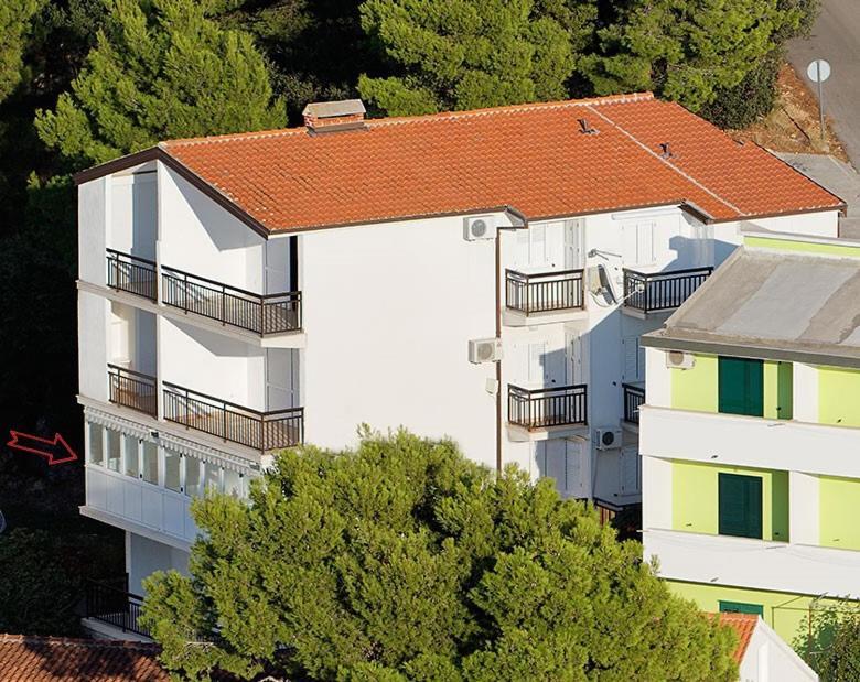 Ptičja perspektiva objekta Apartments Zovko