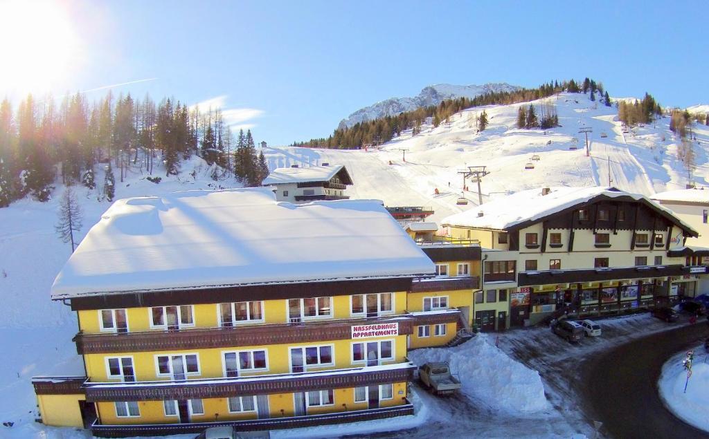 Nassfeldhaus im Winter