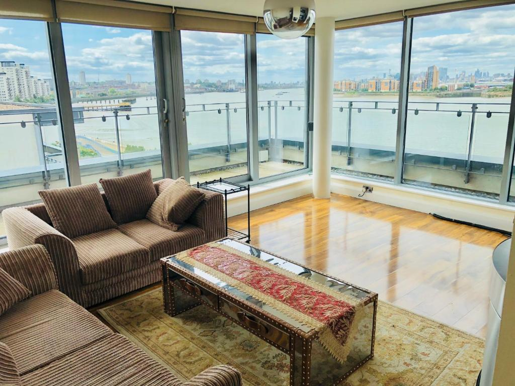 A seating area at The Penthouse