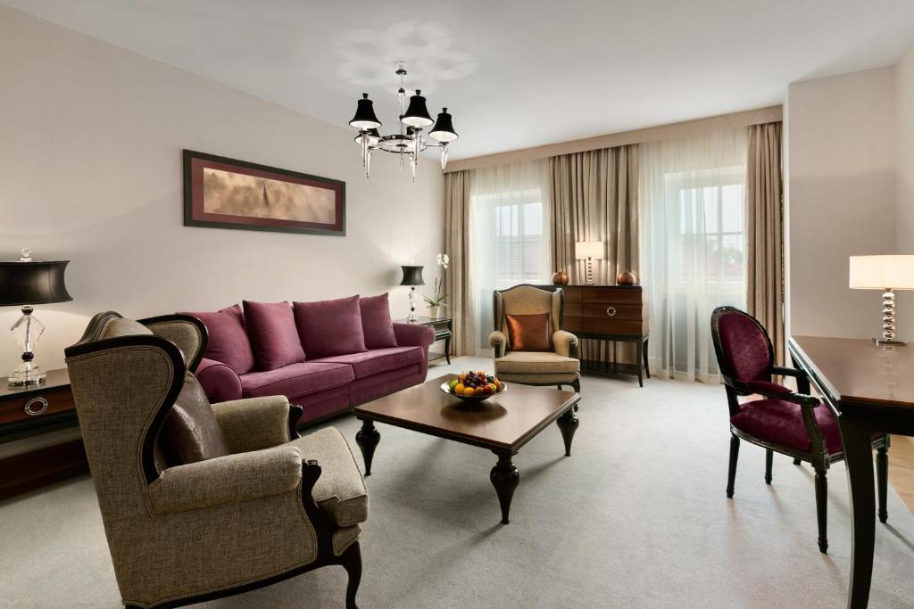 Zona de estar de Grand Hotel Kempinski Vilnius