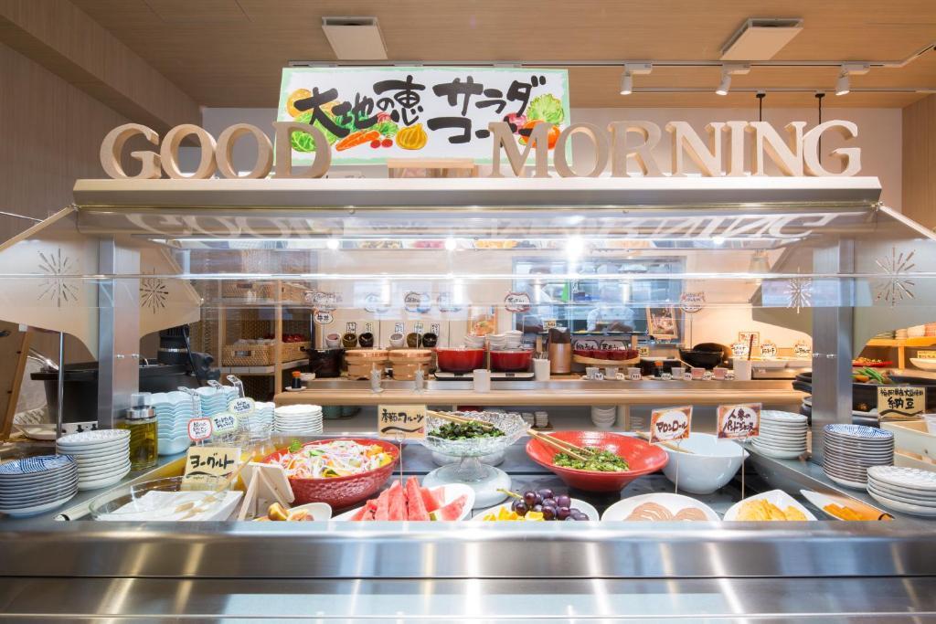 ポイント1.博多の味を朝から味わえる!ビュッフェ式朝食
