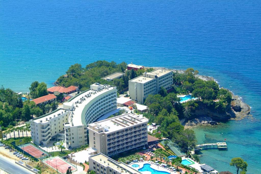 Een luchtfoto van Alara Star Hotel