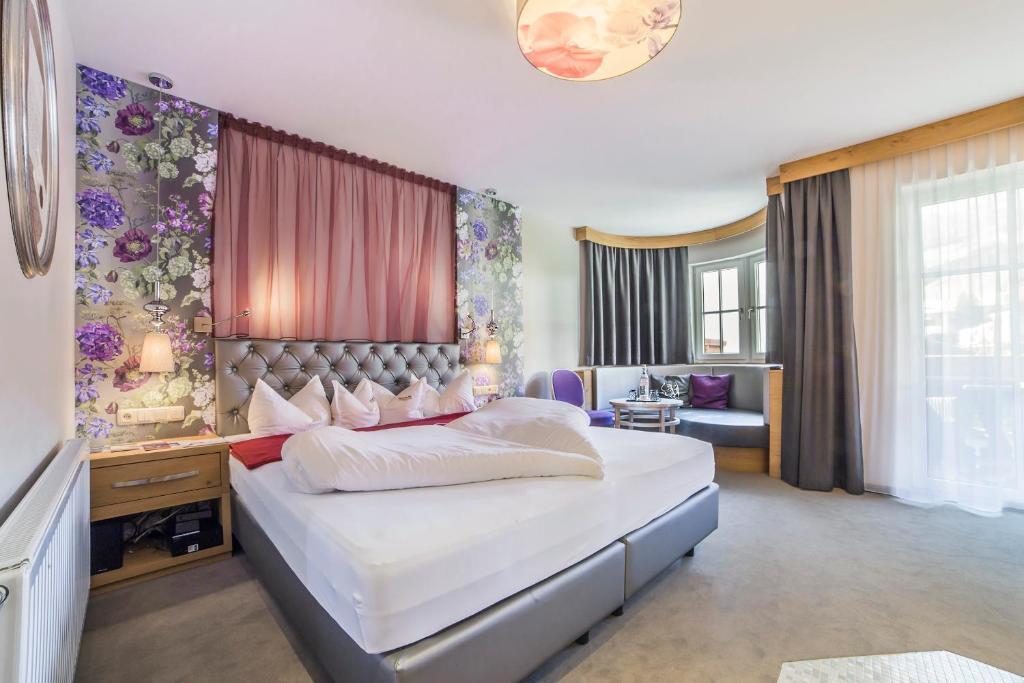 Ein Bett Oder Betten In Einem Zimmer Der Unterkunft ... Mein Romantisches  Hotel Toalstock