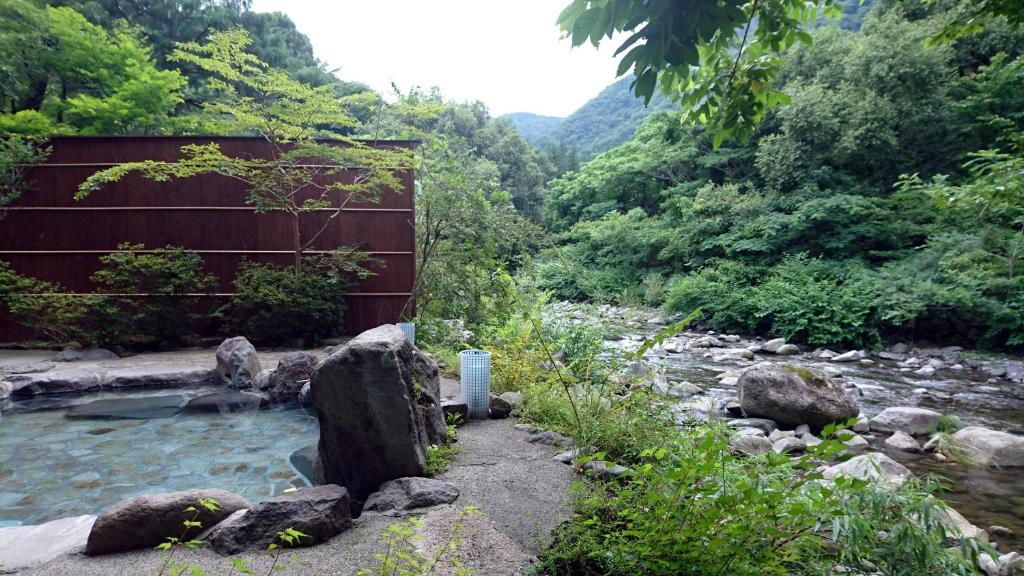 ポイント1.自然の中にある露天風呂