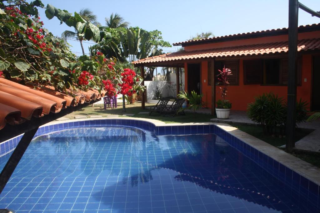 The swimming pool at or near Villa Tropicale
