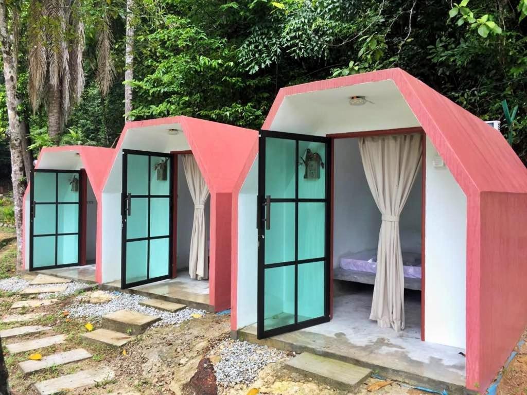 Eco Capsule Resort at Teluk Bahang, Penang, Batu Ferringhi, Malaysia