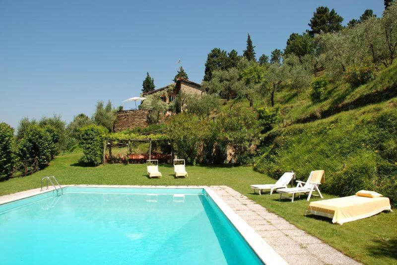 The swimming pool at or near Lucca Villa Sleeps 6 Pool Air Con WiFi
