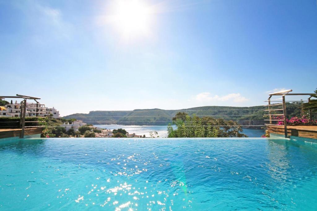 The swimming pool at or near Villa Barbara