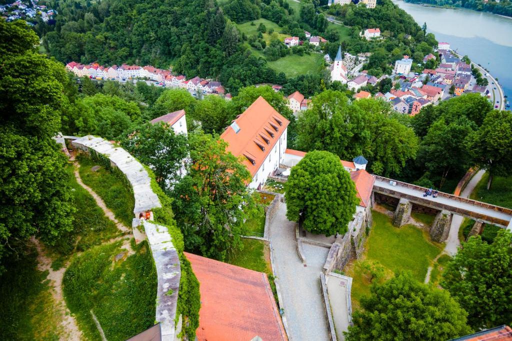 A bird's-eye view of HI Hostel Jugendherberge Passau
