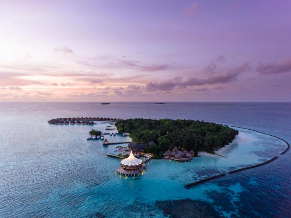 A bird's-eye view of Baros Maldives