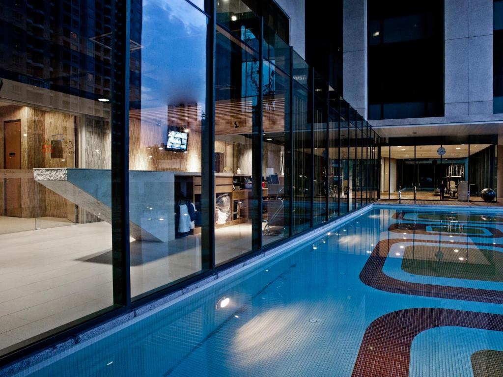 The swimming pool at or near GTower Hotel