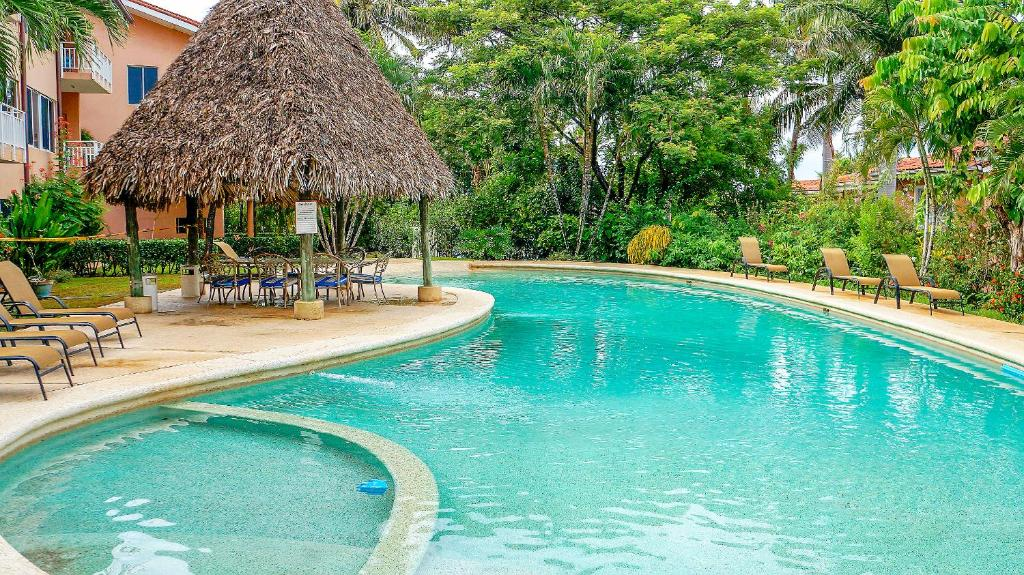 The Swimming Pool At Or Near Bahia Langosta On Beach