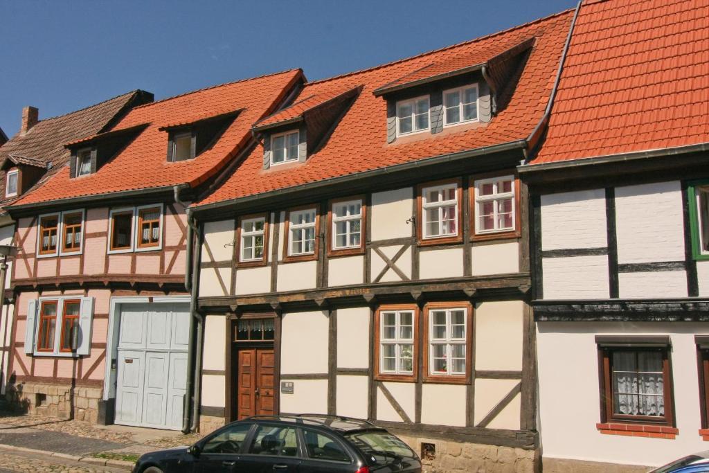 Ferienwohnung urlaub im fachwerk deutschland quedlinburg for Was ist fachwerk