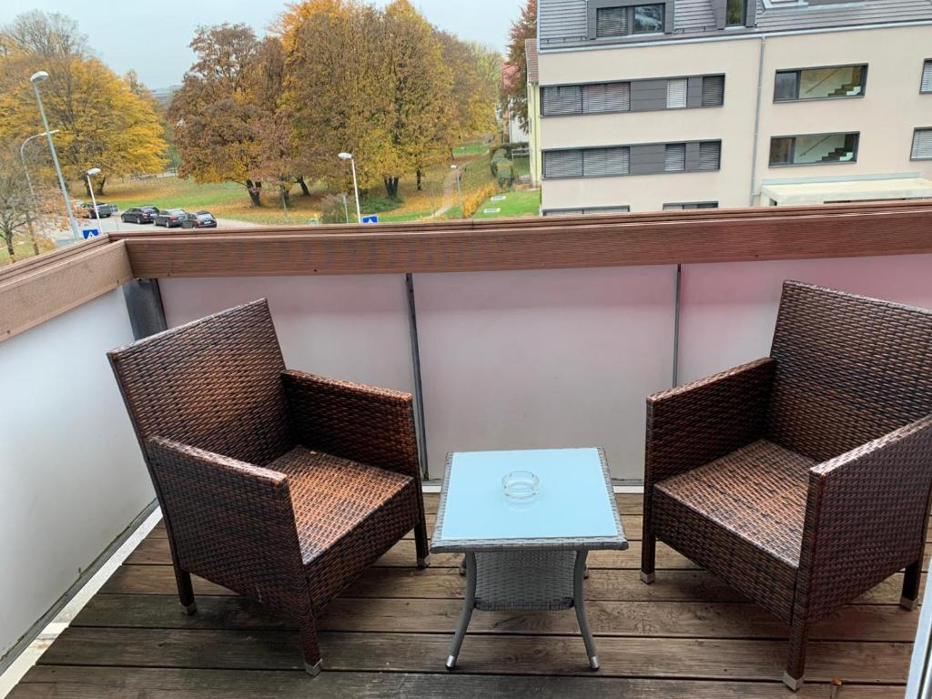 Apartment Zentrales Wg Zimmer Balkon Kamin Ravensburg Germany