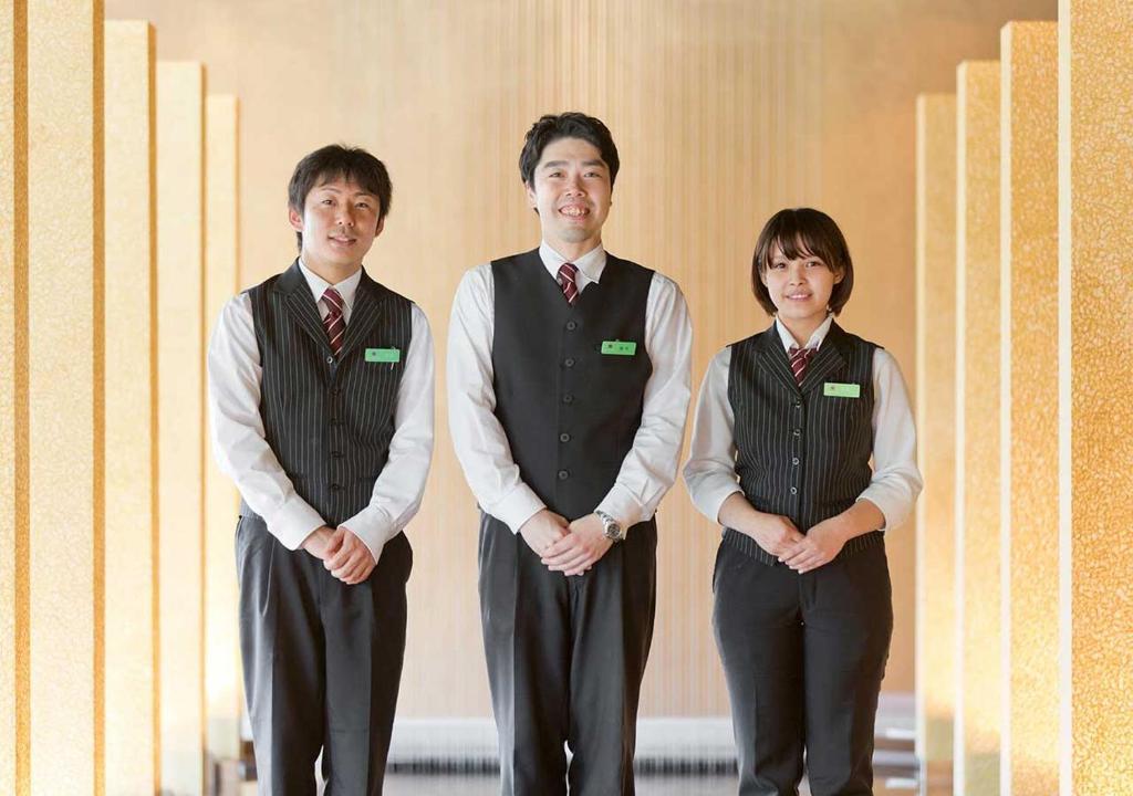 ポイント3.リゾート旅館ならではのスタッフサービス