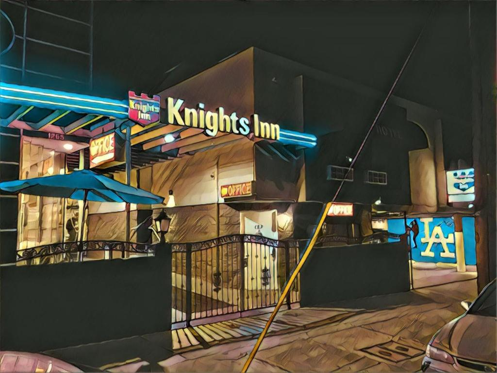 Knights Inn Los Angeles Central Convention Center Area.