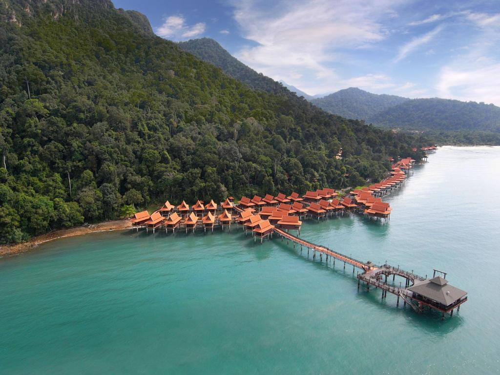 A bird's-eye view of Berjaya Langkawi Resort