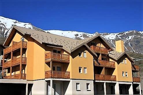 L'établissement Appartement à la Montagne en hiver