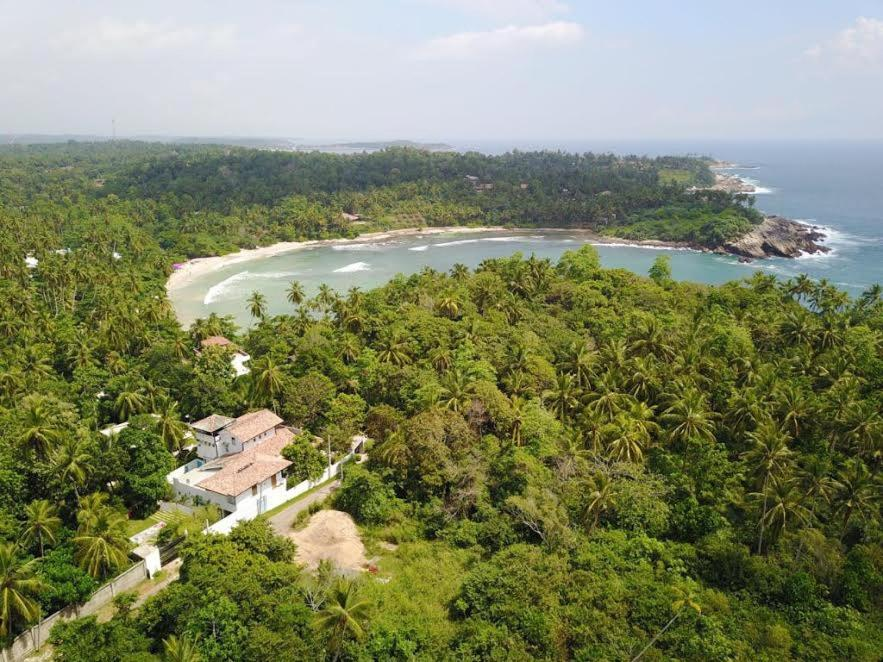 A bird's-eye view of Serene Villa