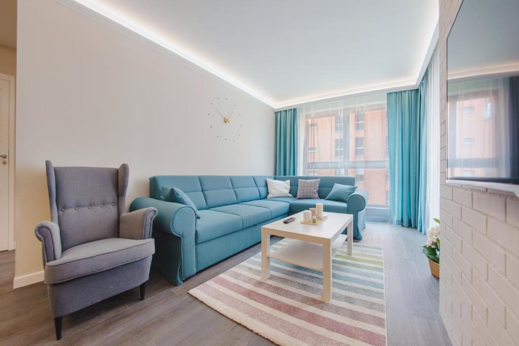 A seating area at Apartamenty Sun & Snow Aura