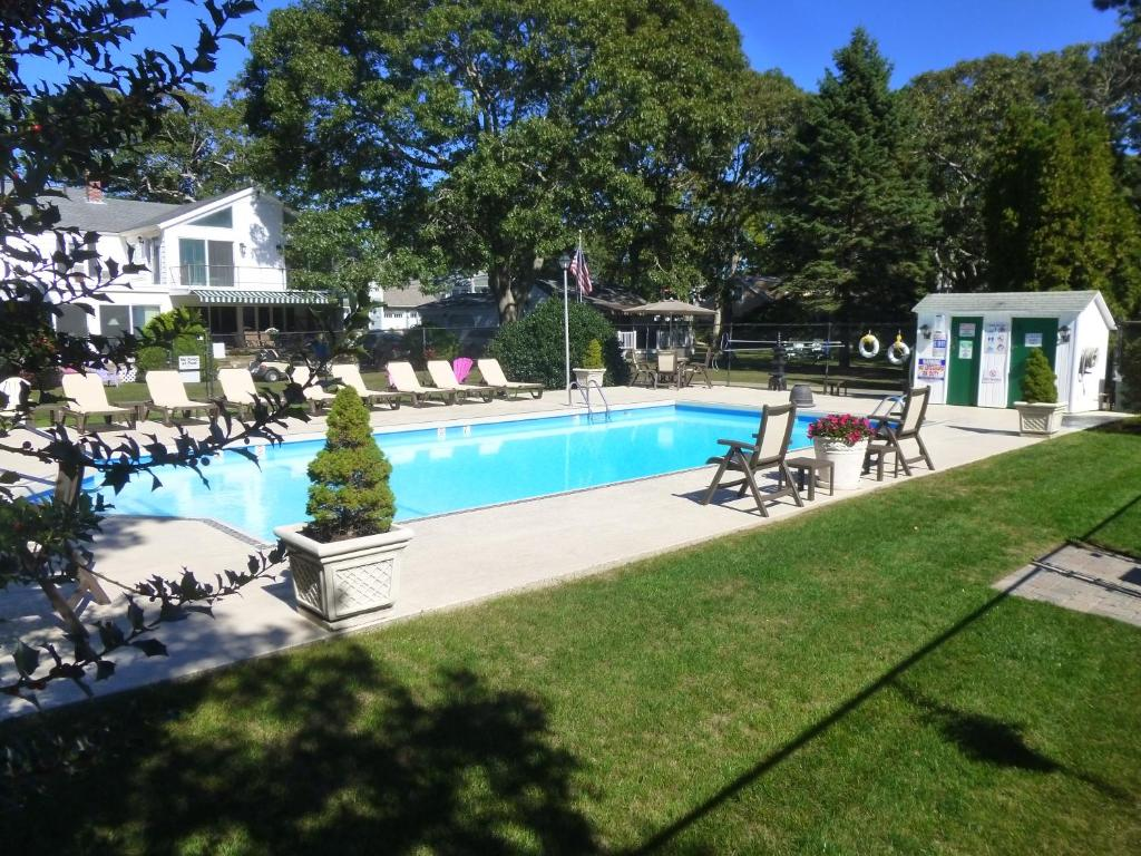 The swimming pool at or near Falmouth Heights Motor Lodge