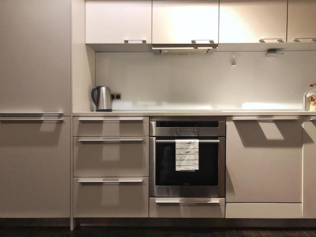Кухня или мини-кухня в ROSEWIND Apartments - Pitterova