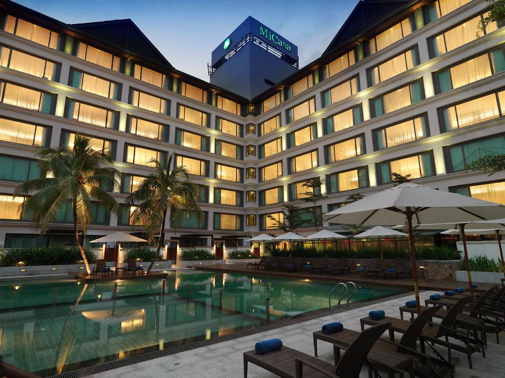 Micasa all suites hotel kuala lumpur malaysia for Ideal hotel design booking