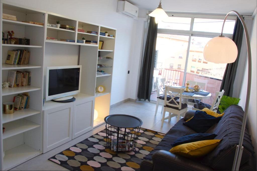 Seating area sa Apartment Sagrera