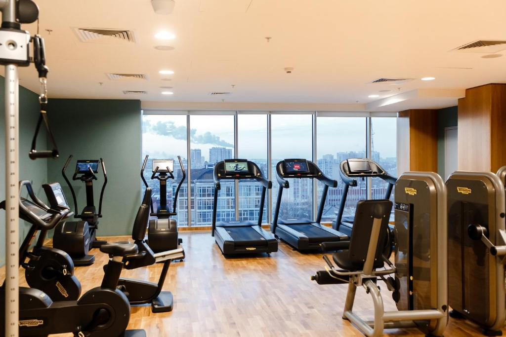 Фитнес-центр и/или тренажеры в Voronezh Marriott Hotel