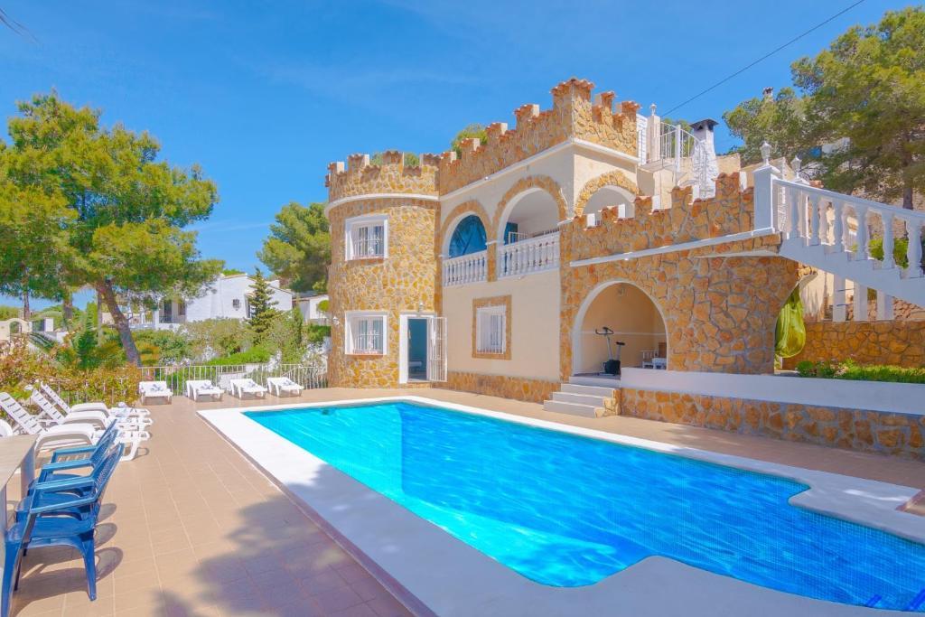 Moraira Spain Map.Villa Arnella 8 Moraira Spain Booking Com