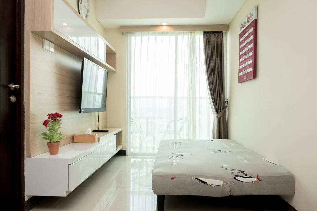 Apartment Best Location 2br With Sofa Bed At Tamansari La Grande By