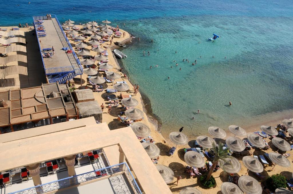King Tut Aqua Park Resort Hurghada Egypt Bookingcom - Map of egypt beach resorts