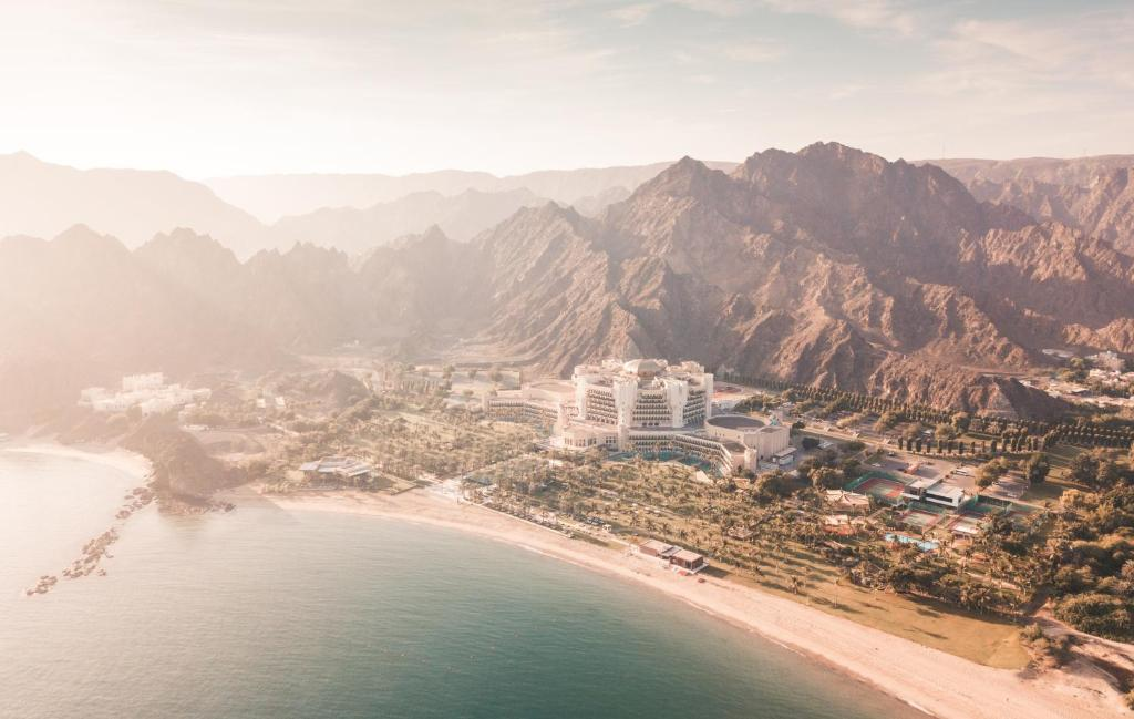 A bird's-eye view of Al Bustan Palace, A Ritz-Carlton Hotel