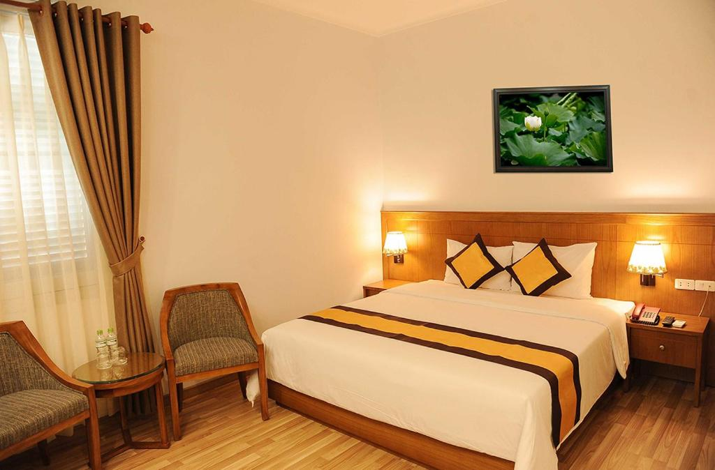 Кровать или кровати в номере T78 HOTEL