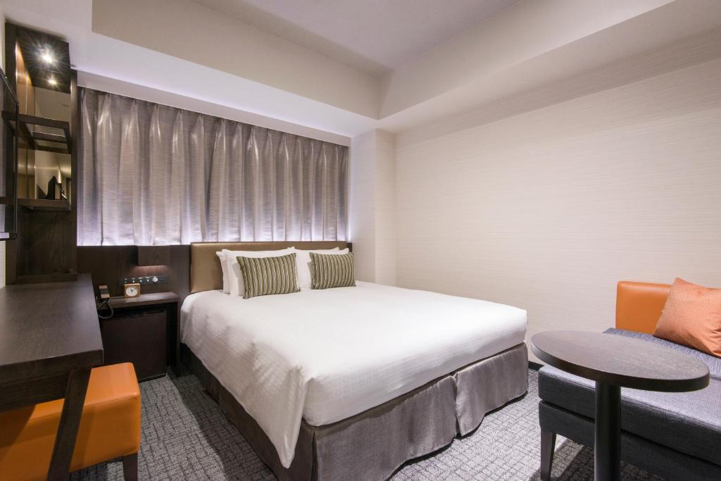ポイント2.ベッドもバスルームも快適!ぐっすり眠れる客室