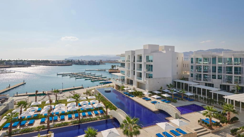Vista de la piscina de Hyatt Regency Aqaba Ayla Resort o alrededores