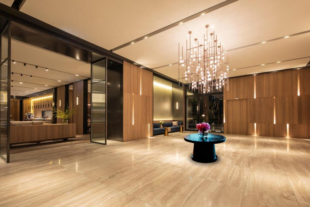 The lobby or reception area at Parkview Taipei